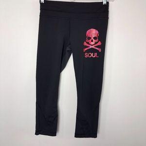 Lululemon SoulCycle Cropped Leggings Black 6